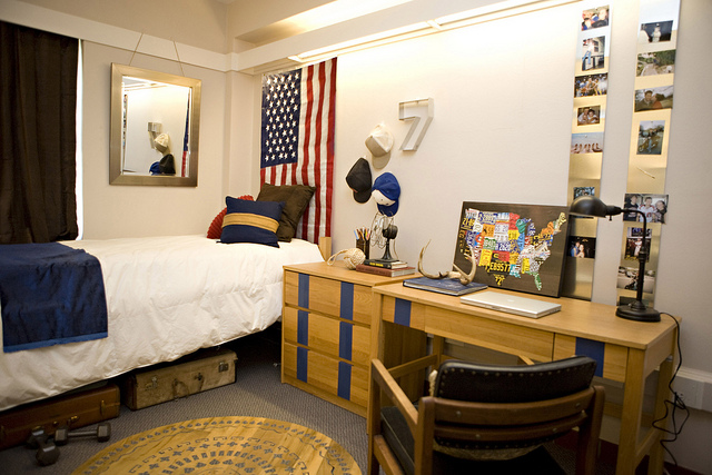 GUY'S DORM ROOM BEFORE AND AFTER