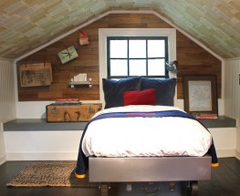Patriotic and Historic Attic Room