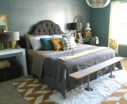 Beautifully Moody and Romantic Master Bedroom