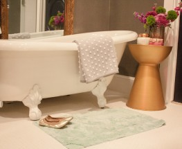 Bathroom Goes Glam with Glitter!
