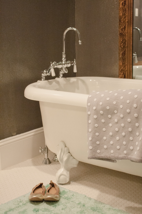 Bathroom Goes Glam With Glitter Kara Paslay Design
