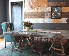 African Inspired Dining Space