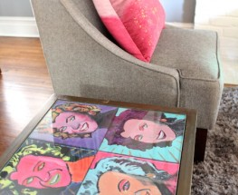 DIY Pop Art Table Top