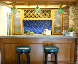 Custom, Kid Friendly Bar