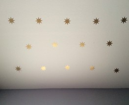 A DIY Starry Night Ceiling